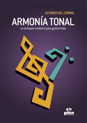 Armonía tonal un enfoque moderno para guitarristas - Portada
