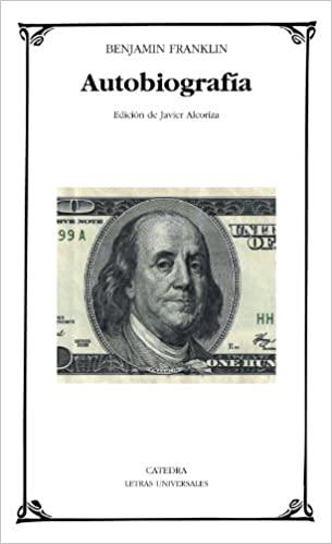 Comprar Benjamin Franklin - Autobiografía