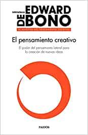 Comprar Edward De Bono - El pensamiento creativo