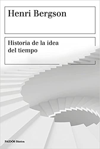Comprar Henri Bergson - Historia de la idea del tiempo