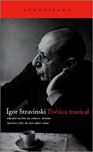 Comprar Ígor Stranvinsky - Poética musical