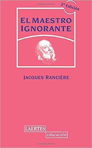 Comprar Jaques renciere - El maestro ignorante