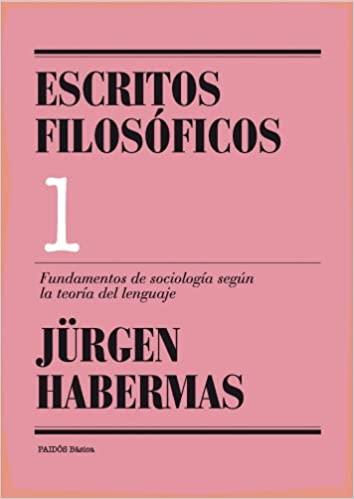 Comprar Jürgen Habermas - Escritos filosóficos, 1