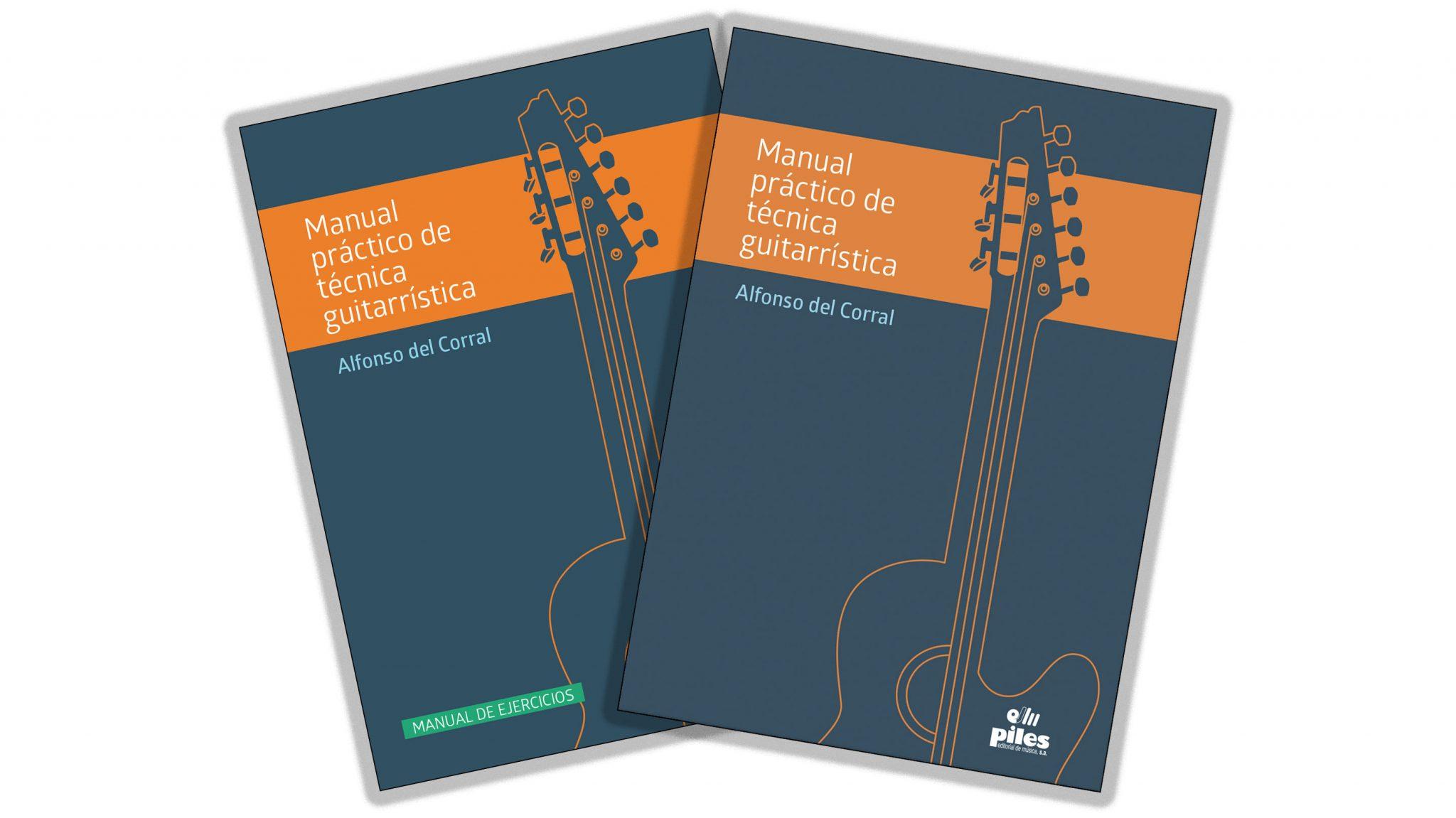 Manual práctico de técnica guitarrística - 2 libros