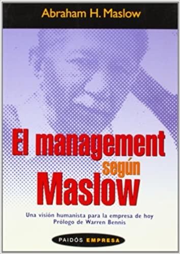 Comprar Abraham H. Maslow - El management según Maslow