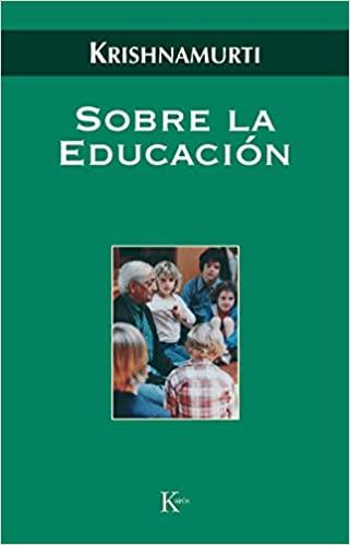 Comprar Krishnamurti - Sobre la educación