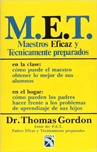 Comprar Thomas Gordon - Maestros eficaz y técnicamente preparados