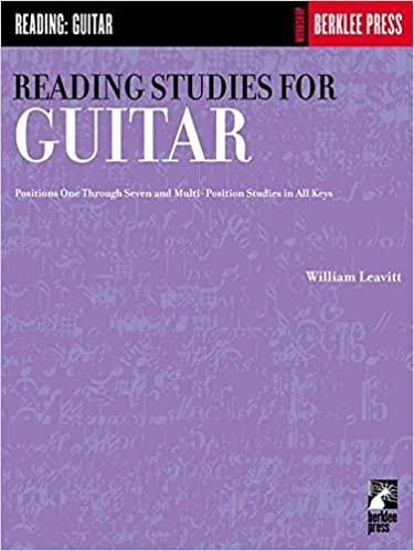 Comprar William Leavitt Reading studies for gutiar
